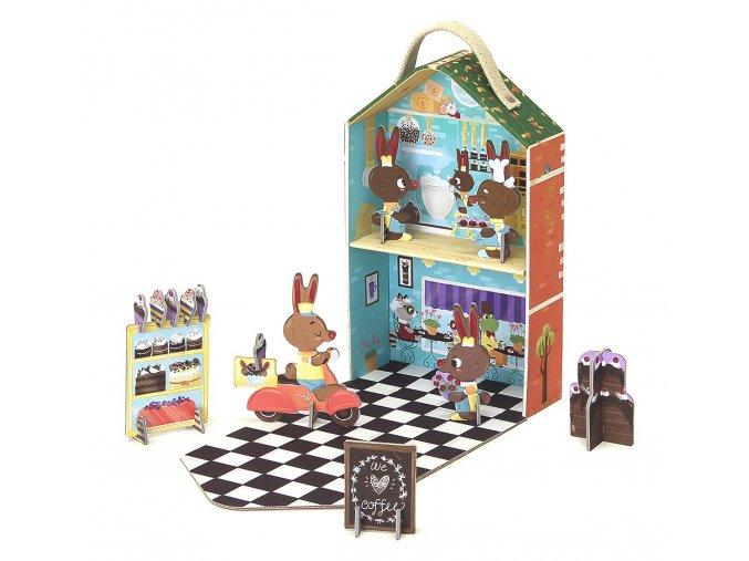 Cestovní hrací set - zaječí pekárna