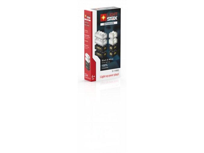 Light Stax rozšiřující set - černá, bílá
