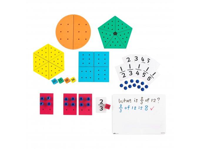 Zlomky množství / Fractions of Quantities