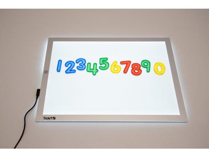 Svítící panel A3 / Light panel A3 460x340 mm