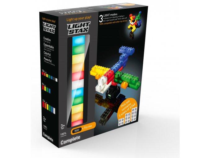 Light Stax Complete - 34 svítících kostek různých velikostí