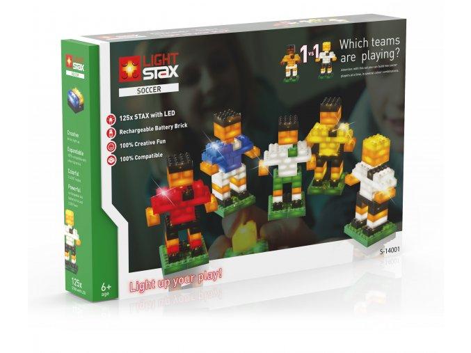 Light Stax Soccer - 125 svítítích kostek