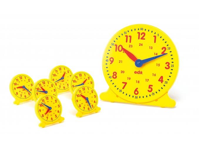 Classroom Clock Kit 25 PC / Školní set na učení hodin 25 ks