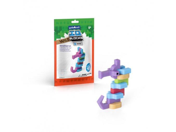 IO Blocks- Mořský koník (Seahorse)