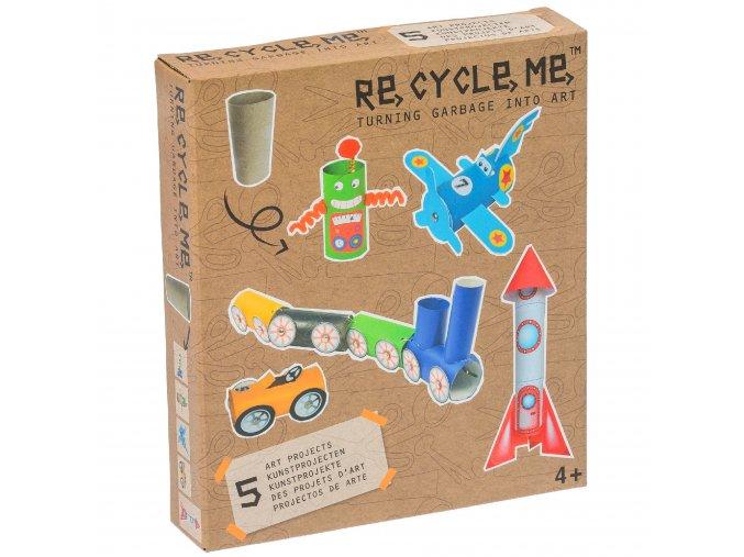 9719 set re cycle me pro kluky role od toaletniho papiru