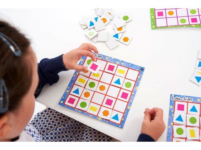 Sudoku s tvary (sudoku shape)
