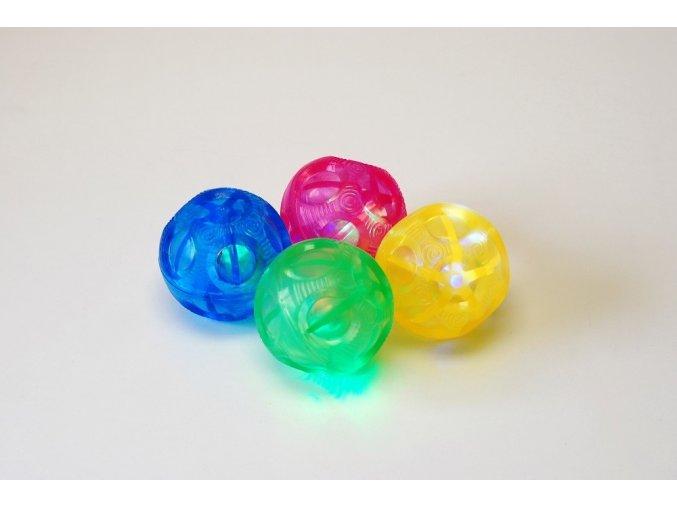 Sada blikajících míčků malá (Sensory flashing balls irregul.)