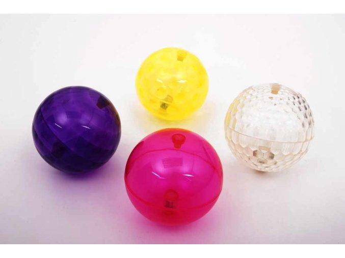 Lehké taktilní a bikající míče sada / Sensory flashing balls texture
