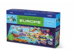 Puzzle - Discover Europe (100 pcs)
