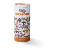 Memory Game - Wild Animals (72 pcs)