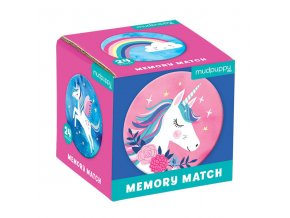 Mini Memory Game Unicorns (24 pc) / Pexeso - Kouzlo jednorožce (24 ks)