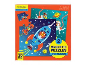 Magnetic Fun - Space Adventure (20 pcs)