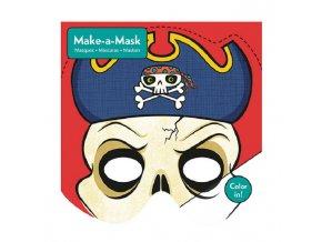4974 vyrob si masku pirat