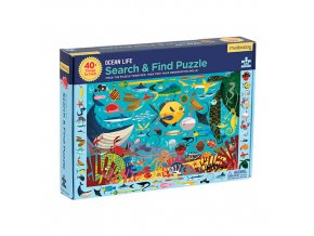 Search & Find Puzzle - Ocean Life (64 pcs)