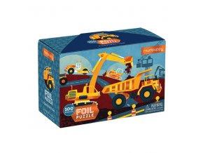 Foil Puzzle - Construction (100 pc) / Foil Puzzle - Stavba (100 ks)