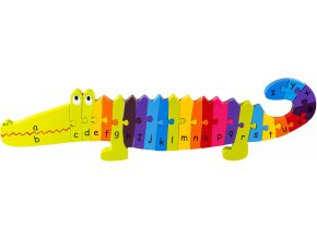 Orange Tree Toys Crocodile Puzzle 1