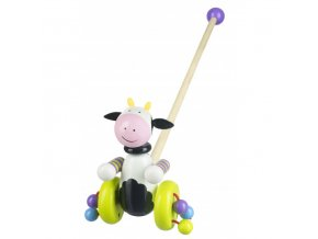 cow push along