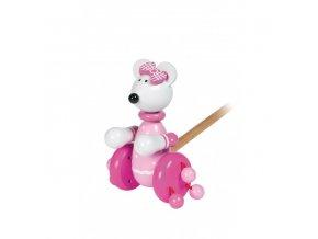 push along pink mouse 1