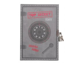 Locked diary - Top Secret