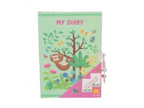 Locked Diary - Tropical Sloth