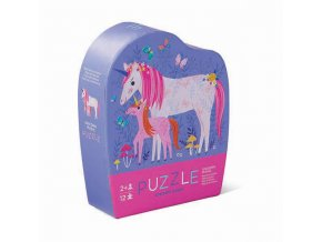 Mini Puzzle - Unicorn (12 pcs)