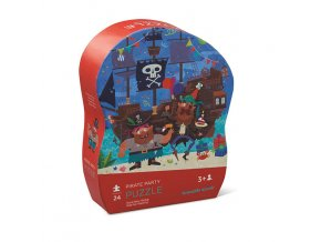 Mini Puzzle - Pirate Party (24 pcs)
