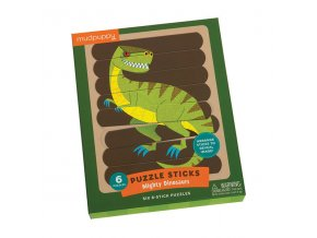 Puzzle Sticks - Mighty Dinosaurs