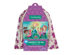 Puzzle To Go - Mermaids (36 pcs)