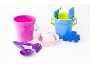 "Bucket set ""Boy & Girl"" - 5 pcs"