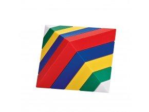 Wedge-it - 2 colors in 1 (30 pc) / Vrstvící pyramida - Wedge-it - set 2 kusů (30 ks)