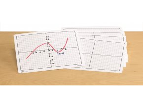 X-Y Coordinate Grid Dry Erase Boards(30)