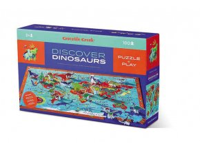 Discover Puzzle Dinosaurs (100 pcs) / Discover Puzzle Dinosauřy (100 ks)