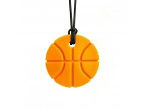 BASKETBALL žvýkací přívěšek XXT Oranžová
