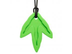 DINO TRACK žvýkací přívěšekXT Světle zelená