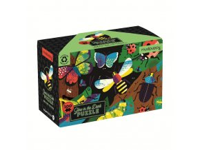 Glow in  the Dark Puzzle - Amazing Insects