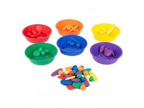 Coloured sorting bowls (6 pc) / Barevné misky ke třídení (6 ks)