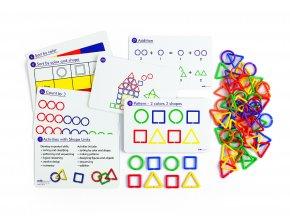 Shape links activity set (360 pc) / Geometrické tvary - Sada aktivit ( 360 ks)