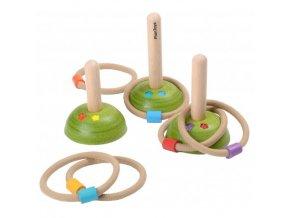 Plan toys - házení kroužků louka