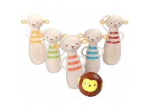 Plan toys - opičí bowling