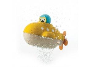 Plan Toys - Ponorka žlutá