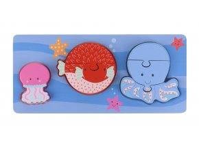 Sealife Mini Puzzle Tray