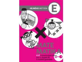 Matematika E - Klíč k pracovnímu sešitu