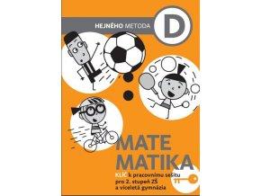 Matematika D - klíč k pracovnímu sešitu