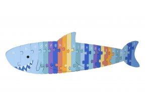 ALPHABET PUZZLE SHARK