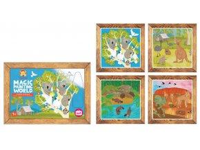 13068 1 magic painting aussie animals