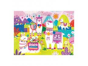 13224 1 fuzzy puzzle zeme lam llama land