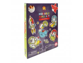 13239 1 movable wall art vesmirna zvirata space animals