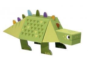 Poskládej dinosaura - Stegosaurus