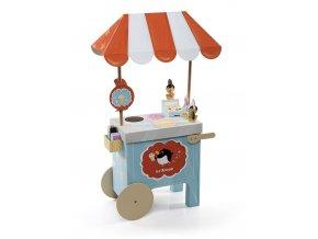 Hrací set - stánek na zmrzlinu