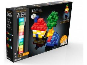 Light Stax Ultimate - 75 svítících kostek různých velikostí